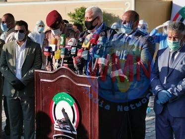 فالح الفياض من كربلاء: الحشد سيستمر بعمليات التحصين ضد كورونا