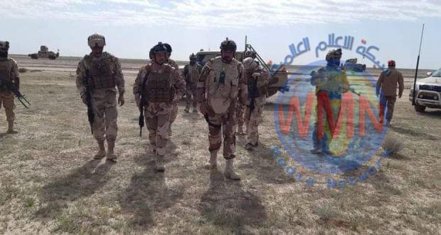 تنفيذ عملية تفتيش في صحراء الانبار