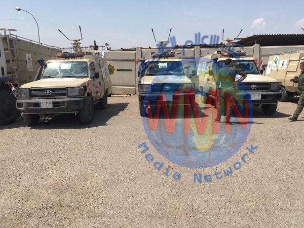 """هيئة الحشد الشعبي تشرع بتعفير منطقة السيدية في بغداد ضمن عملية """"كبح الجائحة"""""""