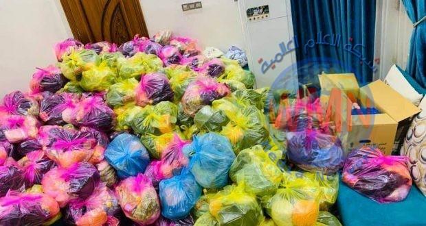 الحشد الشعبي يزود 250 عائلة بمساعدات في المثنى