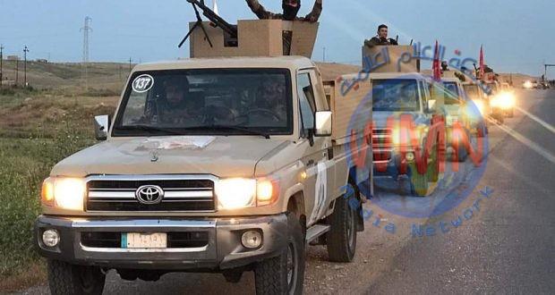 قيادة عمليات نينوى للحشد تطلق عملية أمنية لملاحقة فلول داعش غرب المحافظة
