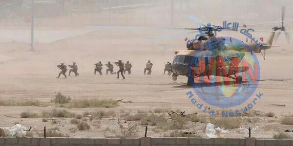 القوات الامنية تنفذ عملية انزال جوي في مناطق غربي الانبار