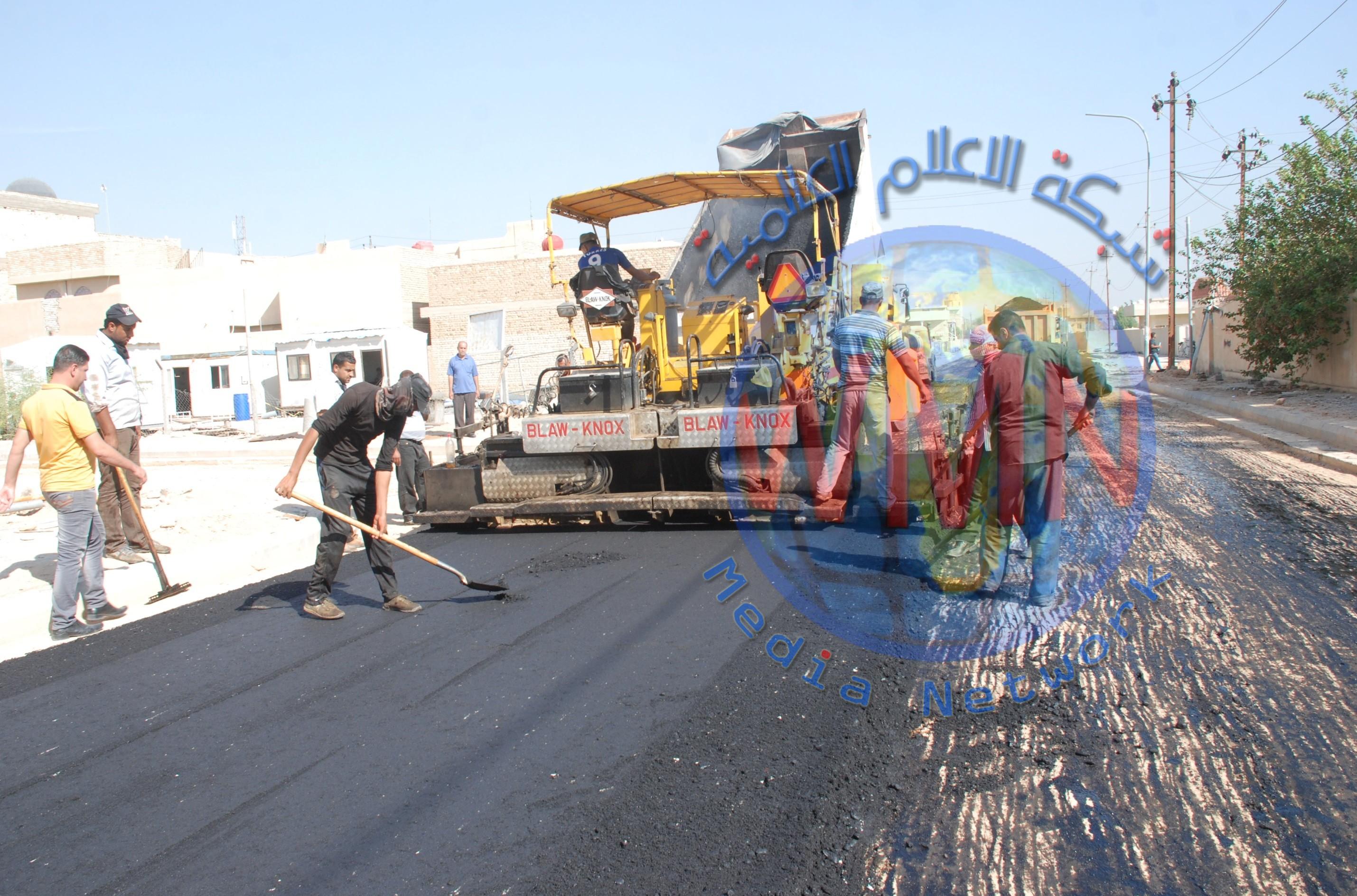 بلدية الحسينية بكربلاء تعلن استئناف العمل بمشاريعها المتوقفة بسبب كورونا