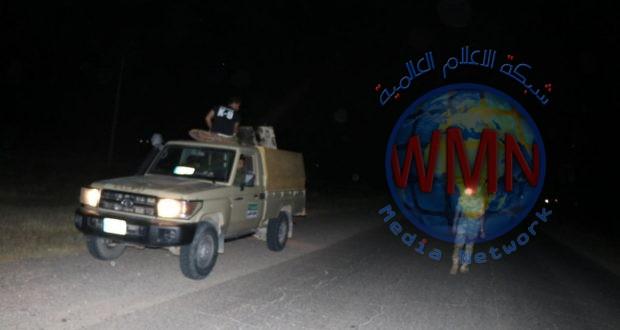 الحشد الشعبي يصد تعرض لعصابات داعش الاجرامي في تل الذهب جنوب صلاح الدين