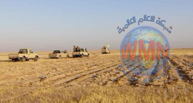 اللواء السابع للحشد يشرع بعملية تأمين مناطق الثرثار ضمن عملية اسود الجزيرة