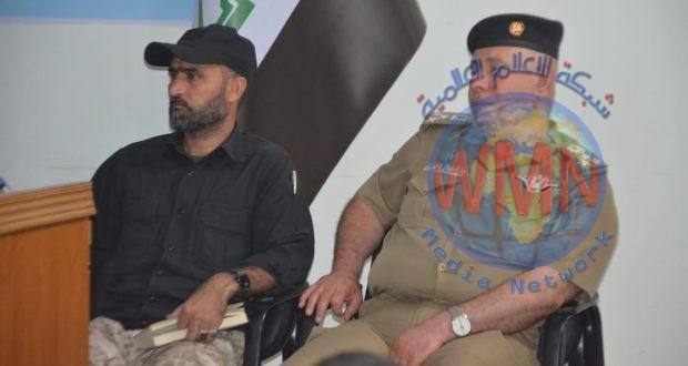 آمر اللواء 52 للحشد يشارك في اجتماع أمني موسع بقضاء الطوز (صور)