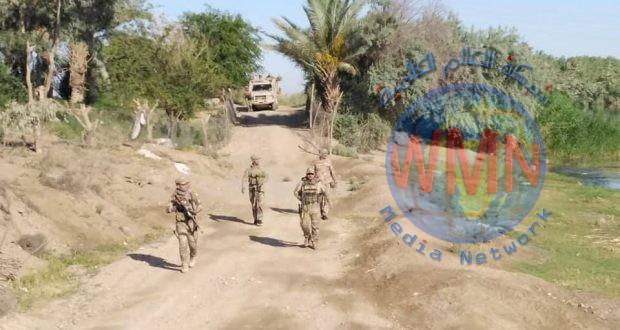 """قيادة عمليات الجزيرة للحشد تحبط محاولة تسلل لـ""""داعش"""" في جرف النصر"""