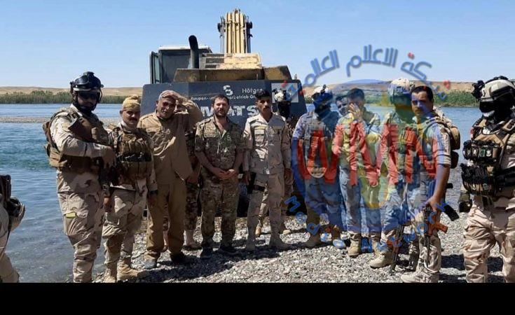 الحشد والجيش ينفذان عملية أمنية في عمق الصحراء والجزيرة لمنع تحركات داعش في الانبار