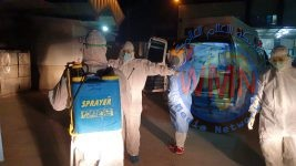 طبابة الحشد تتكفل بنقل ثالث جثة لمتوف بكورونا من محافظة واسط