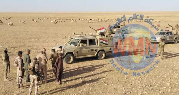 الحشد الشعبي والجيش ينفذان عملية دهم وتفتيش للمناطق الصحراوية جنوب قضاء القائم