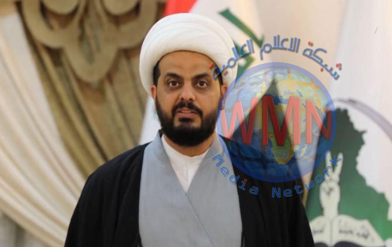 الشيخ قيس الخزعلي:هجمات داعش تبرير لبقاء الاحتلال الامريكي لحساب امن اسرائيل والسيطرة علئ النفط