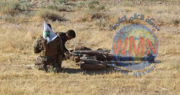 قيادة قاطع عمليات سامراء تعثر على كدس عتاد وسلاح خلال عملية دهم وتفتيش غرب سامراء