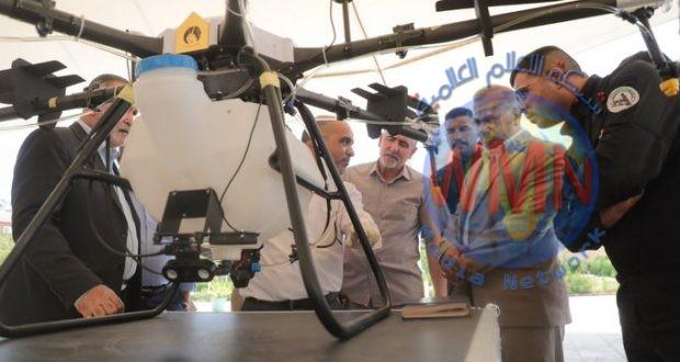 اللواء 26 بالحشد الشعبي ووزارة الزراعة يتفقان على تطوير طائرة مسيرة لأغراض الوقاية