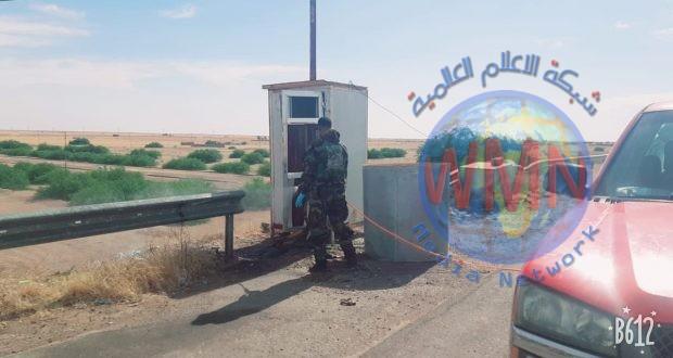 اللواء 35 للحشد يطلق حملة تعفير لمقاره في صلاح الدين للوقاية من كورونا