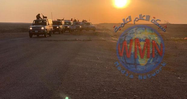 الحشد الشعبي وشرطة الحدود يستهدفان طرق امداد داعش بعملية رمضان الثالثة غرب الانبار