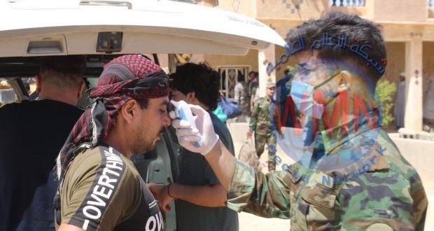 الحشد الشعبي يحصن مقاتليه في الحدود من كورونا