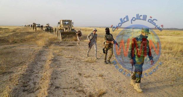 اللواء 16 بالحشد يعثر على مخبأ لداعش غرب داقوق بكركوك