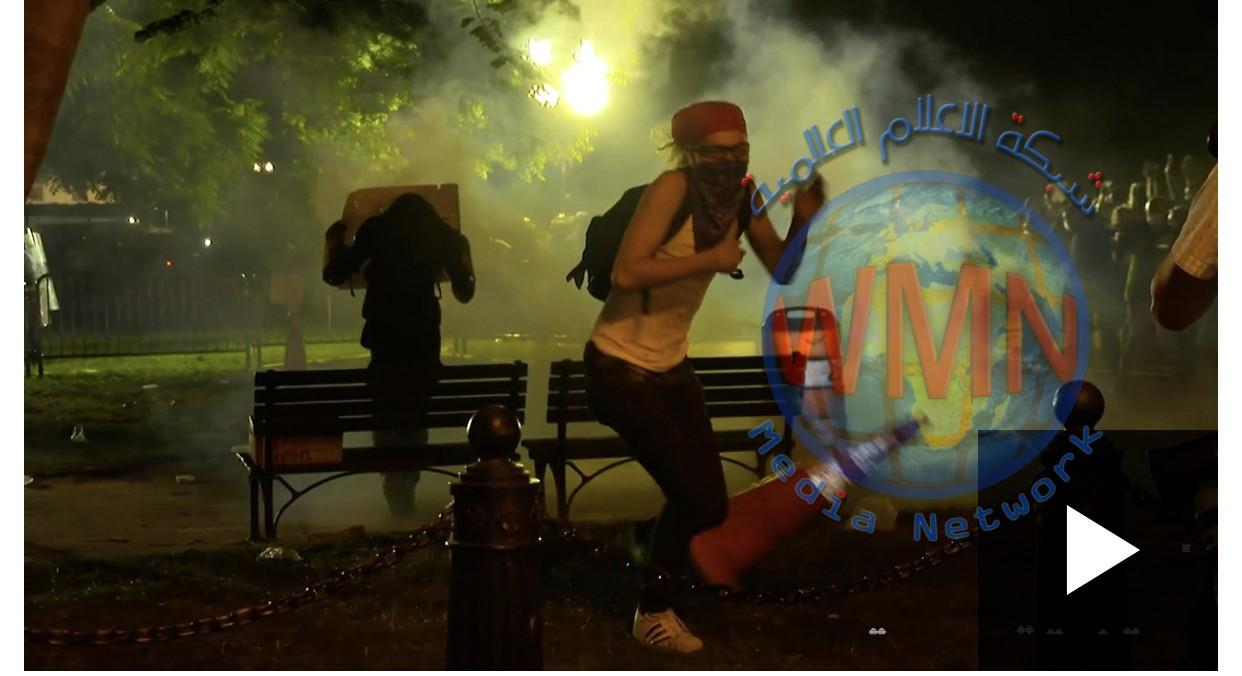 جوروج فلويد: مظاهرات وعنف في أمريكا وترامب ينقل إلى مخبأ طوارئ