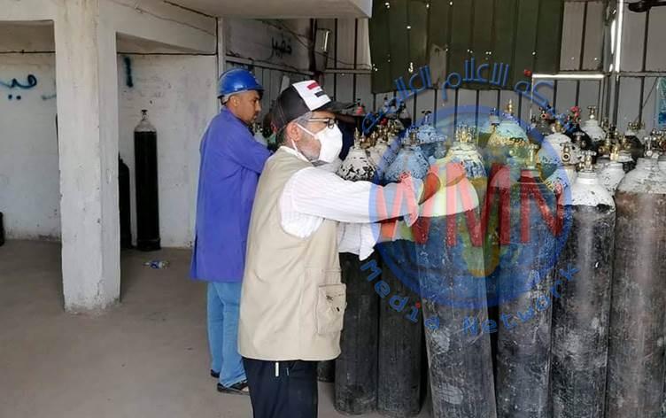 وزارة الصناعة تجهز الصحة بـ ٢٥ ألف اسطوانة أوكسجين