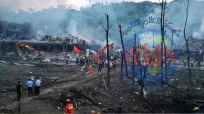 مقتل واصابة 218 شخصا بانفجار صهريج للغاز المسال شرق الصين