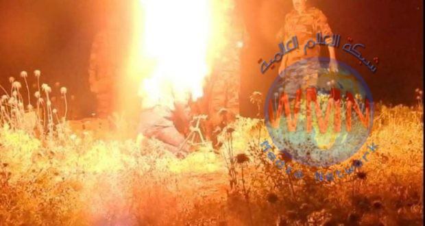 قيادة قاطع عمليات سامراء للحشد تدك مضافات داعشية بقذائف الهاون غرب المدينة