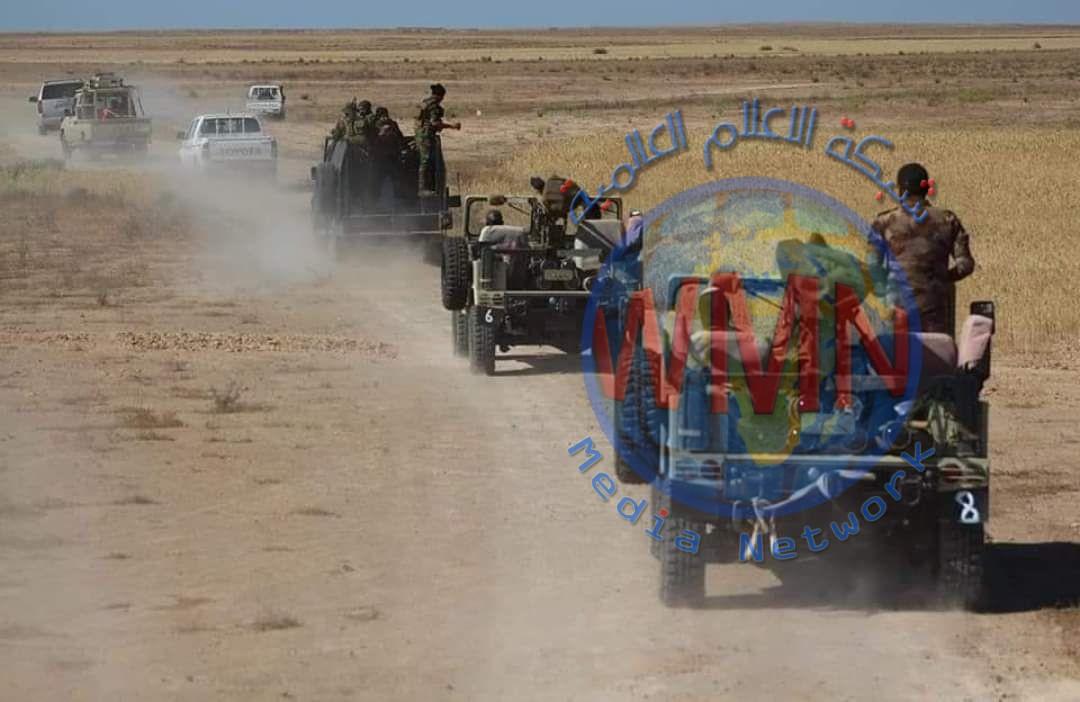 الكتيبة الرابعة في مديرية مقاتلة الدروع تشارك في عمليات أبطال العراق نصر السيادة الثالثة في صلاح الدين