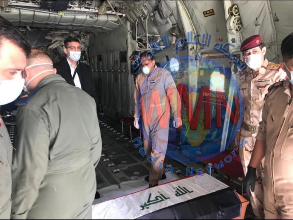 نقل جثمان التميمي من تركيا إلى بغداد (صور)