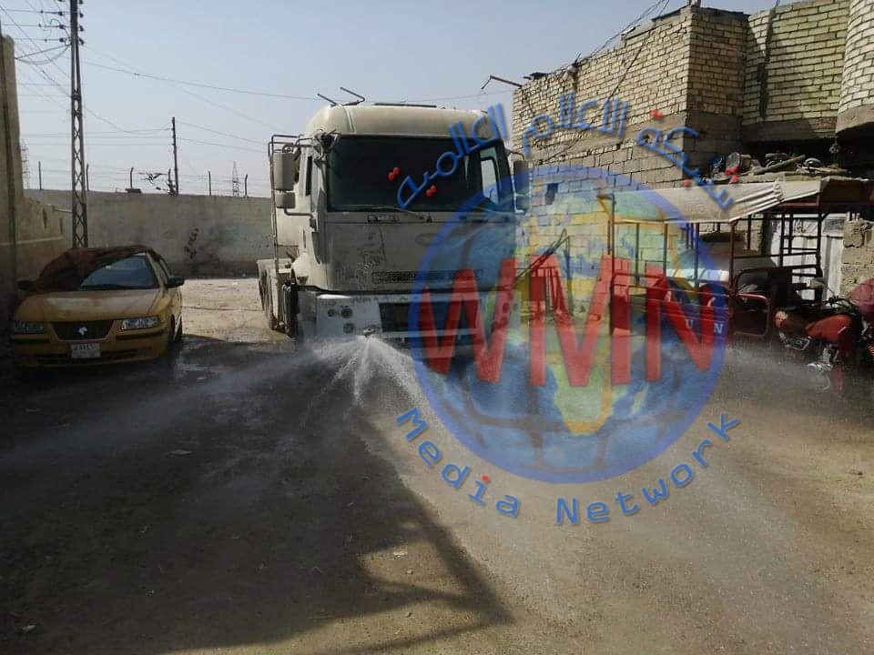 اللواء 41 بالحشد الشعبي يعفر ثلاثة أحياء شرقي بغداد