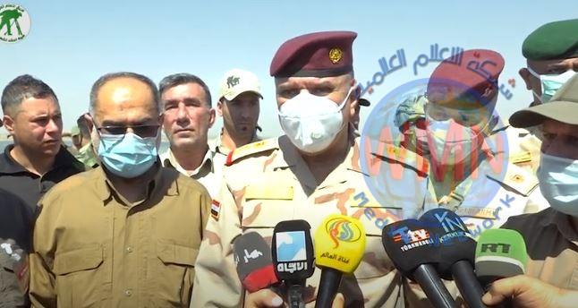 الشمري: عمليات ابطال العراق الثالثة حققت نتائج طيبة