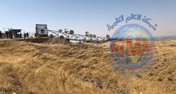 باسناد الحشد الشعبي.. ضبط عمليات تهريب لسعات الانترنت الدولية في جبل مروار
