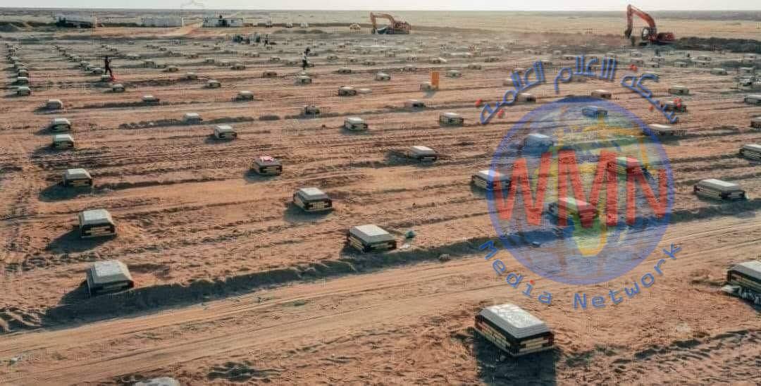 دفن 45 جثة لمتوفين بكورونا خلال الـ24 الساعة الماضية في مقبرة النجف الجديدة