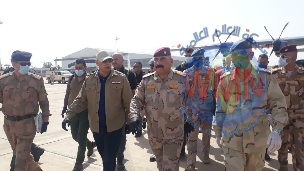 الكاظمي من كركوك: قواتنا تقوم بدور بطولي لتجفيف منابع الإرهاب