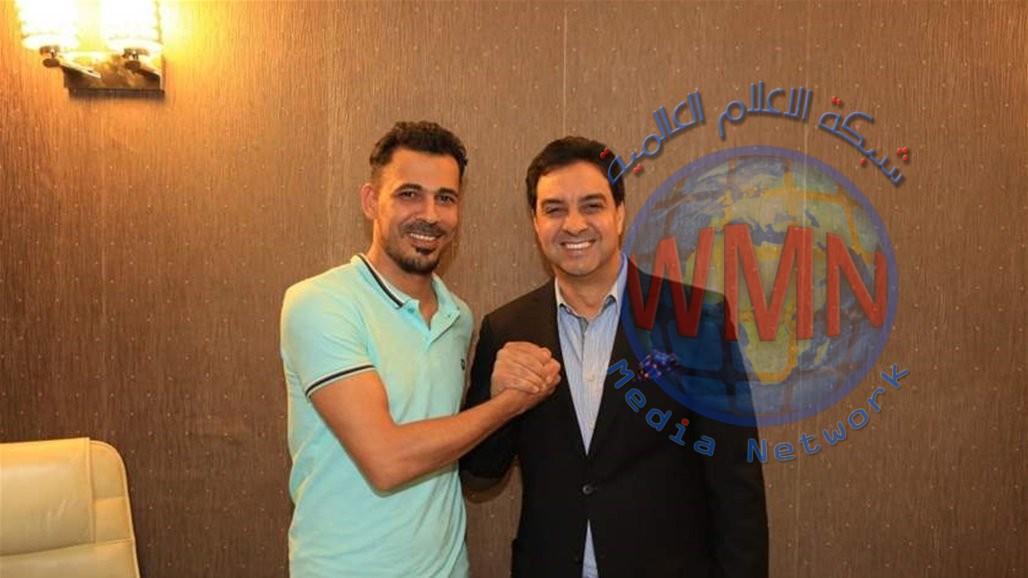 يونس محمود ينعى احمد راضي: ابكيت قلبي قبل عيني