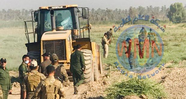 اللواء الأول بالحشد يفجر ثلاث عبوات تحت السيطرة في المقدادية