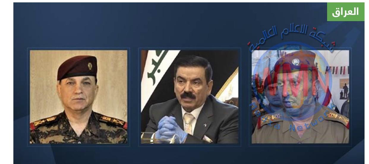 وزارة الدفاع تنقل القائد جميل الشمري إلى إمرتها وتكلف عدة قادة بمناصب عسكرية