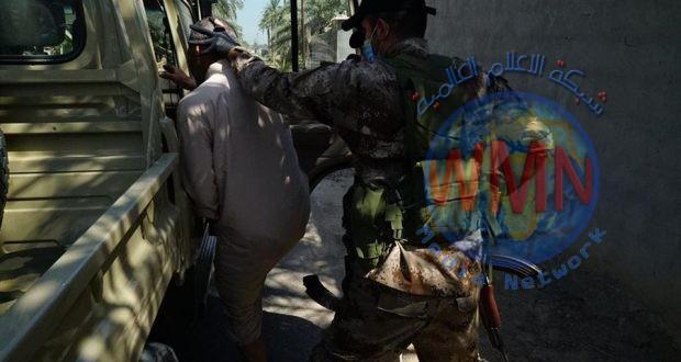 الحشد الشعبي يعتقل عددا من المطلوبين للقضاء بتهم جنائية وإرهابية بالطارمية