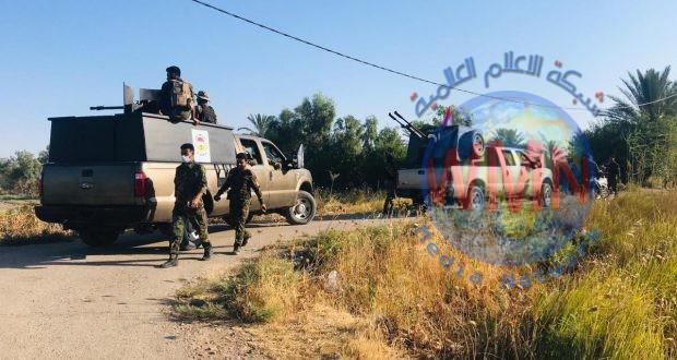 اللواء الأول في الحشد يطهر ثلاث مناطق في ديالى