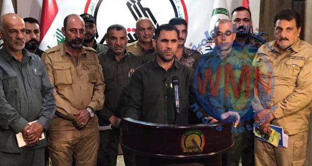 الحـ الشعبي ـشد : عمليات أبطال العراق الرابعة شملت كامل الرقعة الجغرافية لديالى