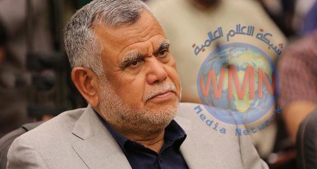 العامري يعزي الحشد الشعبي باستشهاد آمر الفوج الثاني باللواء 47 المجاهد اثير صالح الحسناوي