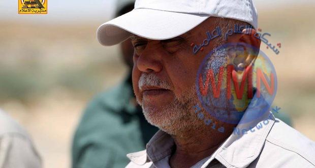 هادي العامري يحي المرجعية والتشكيلات الامنية بذكرى تحرير الموصل ويستذكر قادة النصر