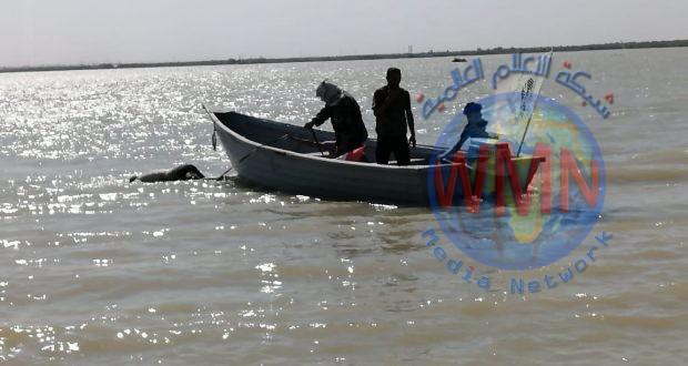 اللواء السابع بالحشد الشعبي ينتشل جثة طافية في نهر دجلة