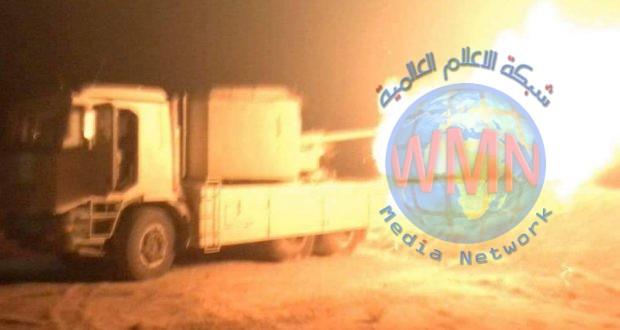 """الحشد الشعبي يدمر عجلة لـ""""داعش"""" في عمق صحراء الانبار"""