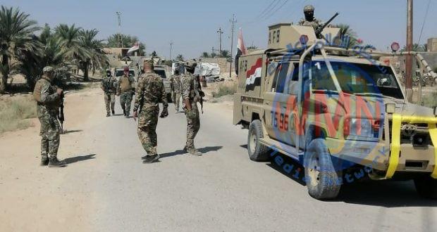 الحـ..الشعبي..ـشد والجيش ينفذان عملية أمنية لتفتيش قرى على ضفاف نهر الفرات
