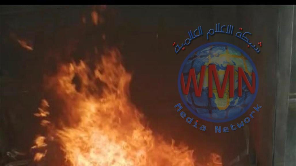 إتلاف مواد محجوزة مخالفة لضوابط الاستيراد في منفذ مطار بغداد