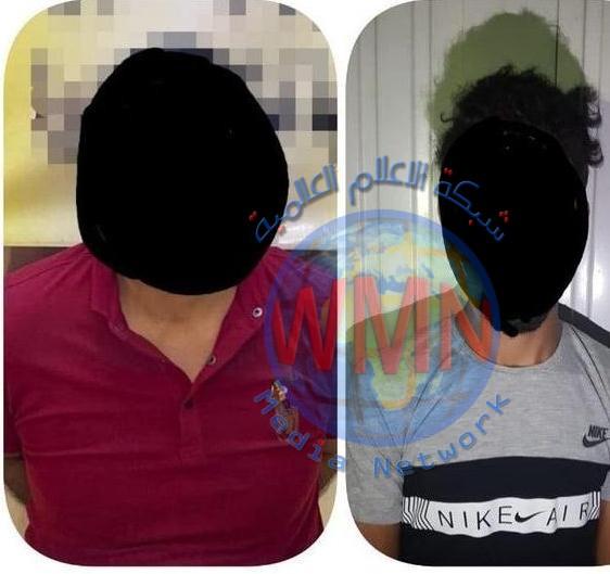 اعتقال ارهابيين يقومان بتوزيع الكفالات على أسر داعش وهارب من سجن بوكا في بغداد