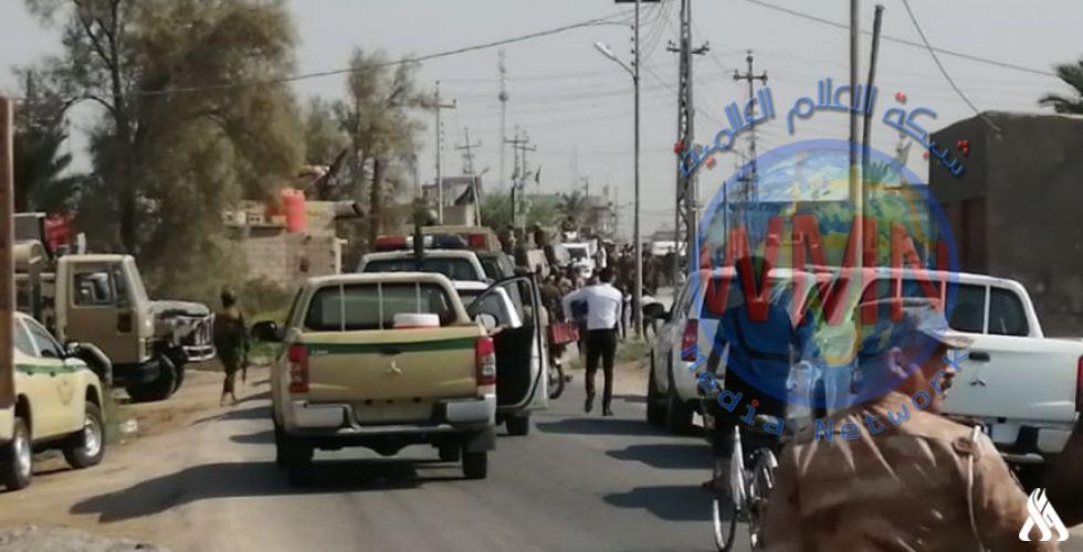 الإعلام الأمني: المباشرة بتنفيذ واجب تفتيش وفرض الأمن شمال البصرة