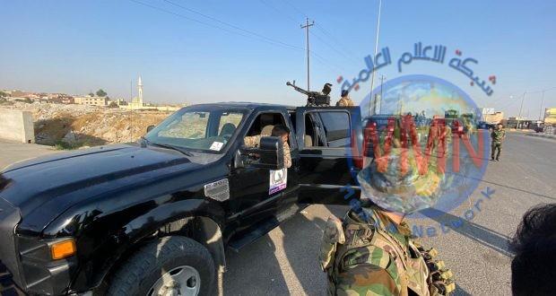 قيادة عمليات نينوى للحـ..الشعبي..ـشد تنفذ عملية لتطهير جزيرة كنعوص جنوب الموصل