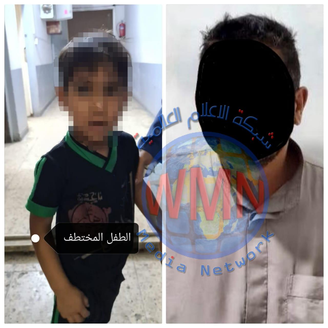 وكالة الاستخبارات تحرر طفل مخطوف وتلقي القبض على الخاطف شرقي بغداد