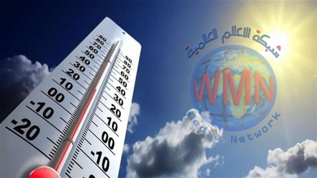 الأنواء الجوية تتوقع حالة الطقس في العراق حتى الأحد المقبل