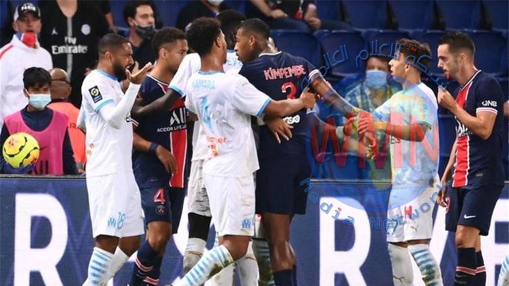 باريس سان جيرمان يسقط أمام مارسيليا في كلاسيكو فرنسا